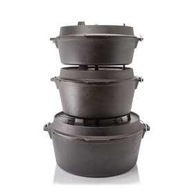 Petromax vuurpot zonder poten/ft 12 zwart
